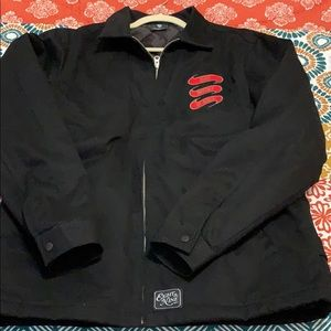 large 8 &9 black jacket.. never worn